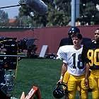 DP Randy Paik lines up shot of co-stars Tedd Taskey and Ruben Paul