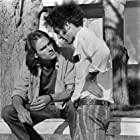 Monte Hellman and James Taylor in Two-Lane Blacktop (1971)