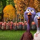 Owen Wilson and Amy Poehler in Free Birds (2013)