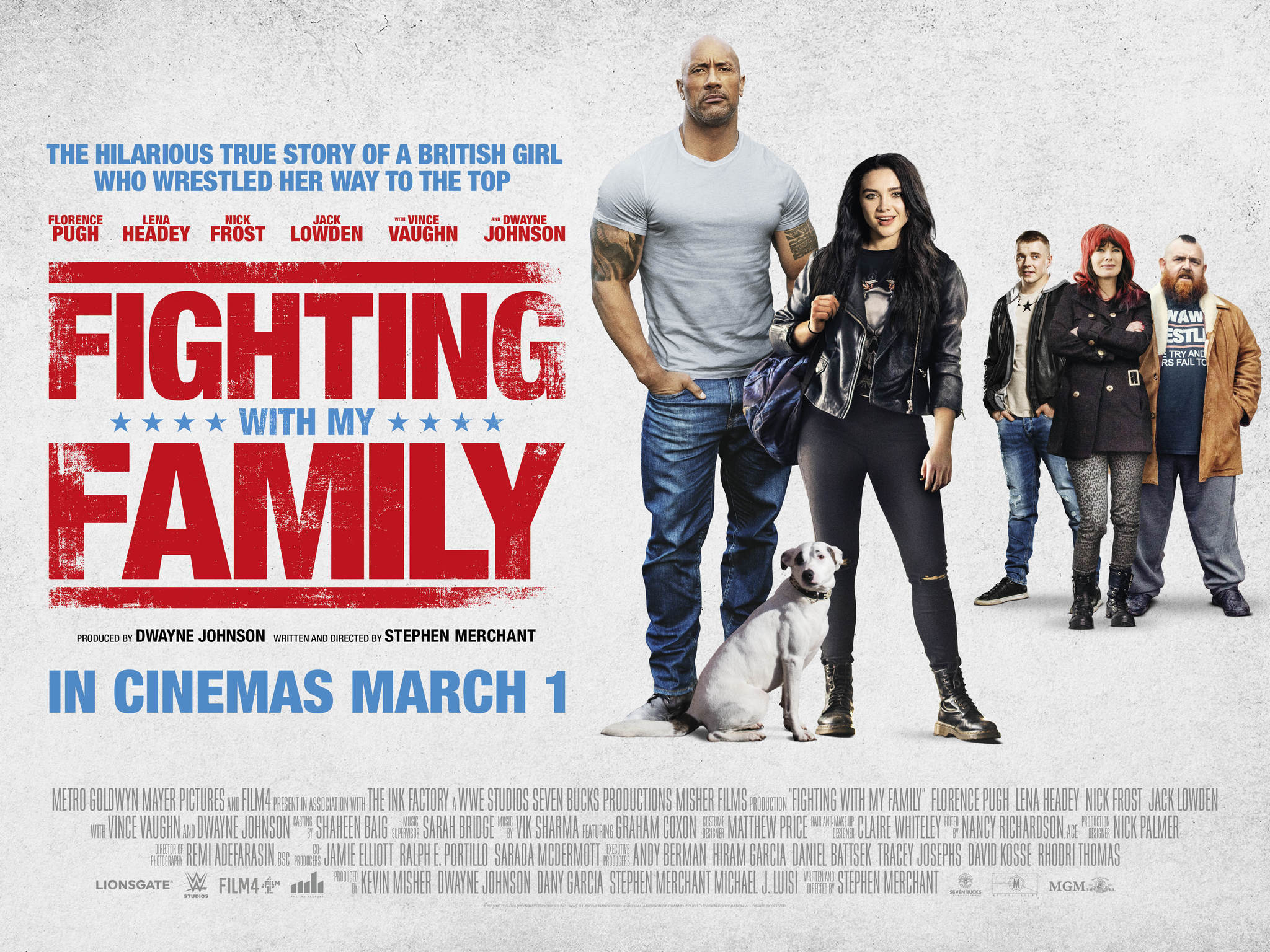 Image result for fighting with my family HD poster