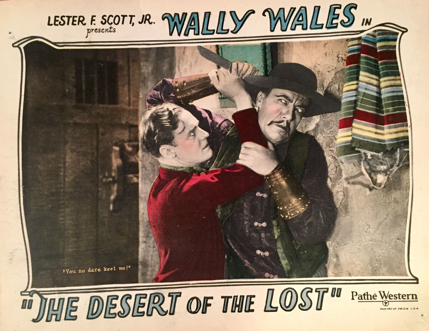 Richard Neill and Hal Taliaferro in The Desert of the Lost (1927)