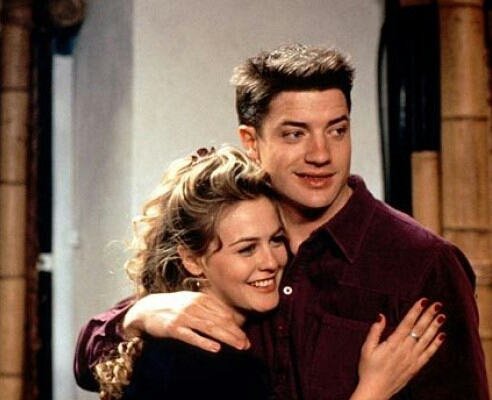 Alicia Silverstone and Brendan Fraser in Blast from the Past (1999)