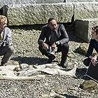 Tom Felton, Jesse L. Martin, and Grant Gustin in The Flash (2014)
