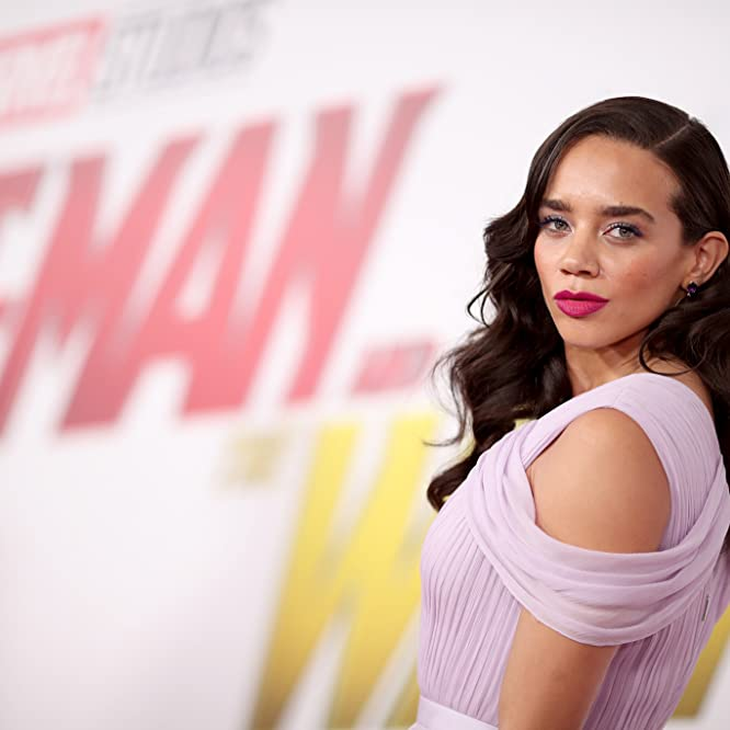 Hannah John-Kamen at an event for Ant-Man and the Wasp (2018)