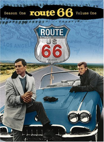 George Maharis and Martin Milner in Route 66 (1960)
