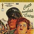 Anne Baxter and Erich von Stroheim in Five Graves to Cairo (1943)