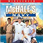 Tom Arnold, David Alan Grier, Debra Messing, Bruce Campbell, French Stewart, and Danton Stone in McHale's Navy (1997)