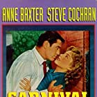 Anne Baxter and Steve Cochran in Carnival Story (1954)