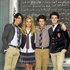 Chelsea Kane, Kevin Jonas, Joe Jonas, and Nick Jonas in Jonas (2009)