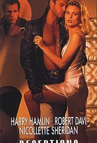 Robert Davi, Nicollette Sheridan, and Harry Hamlin in Deceptions (1990)