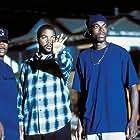 Chris Tucker, Ice Cube, and F. Gary Gray in Friday (1995)