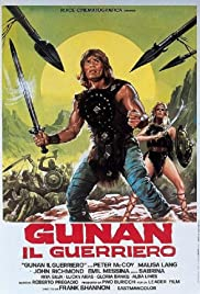 Gunan, King of the Barbarians Poster