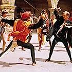 Michael York, John McEnery, and Leonard Whiting in Romeo and Juliet (1968)