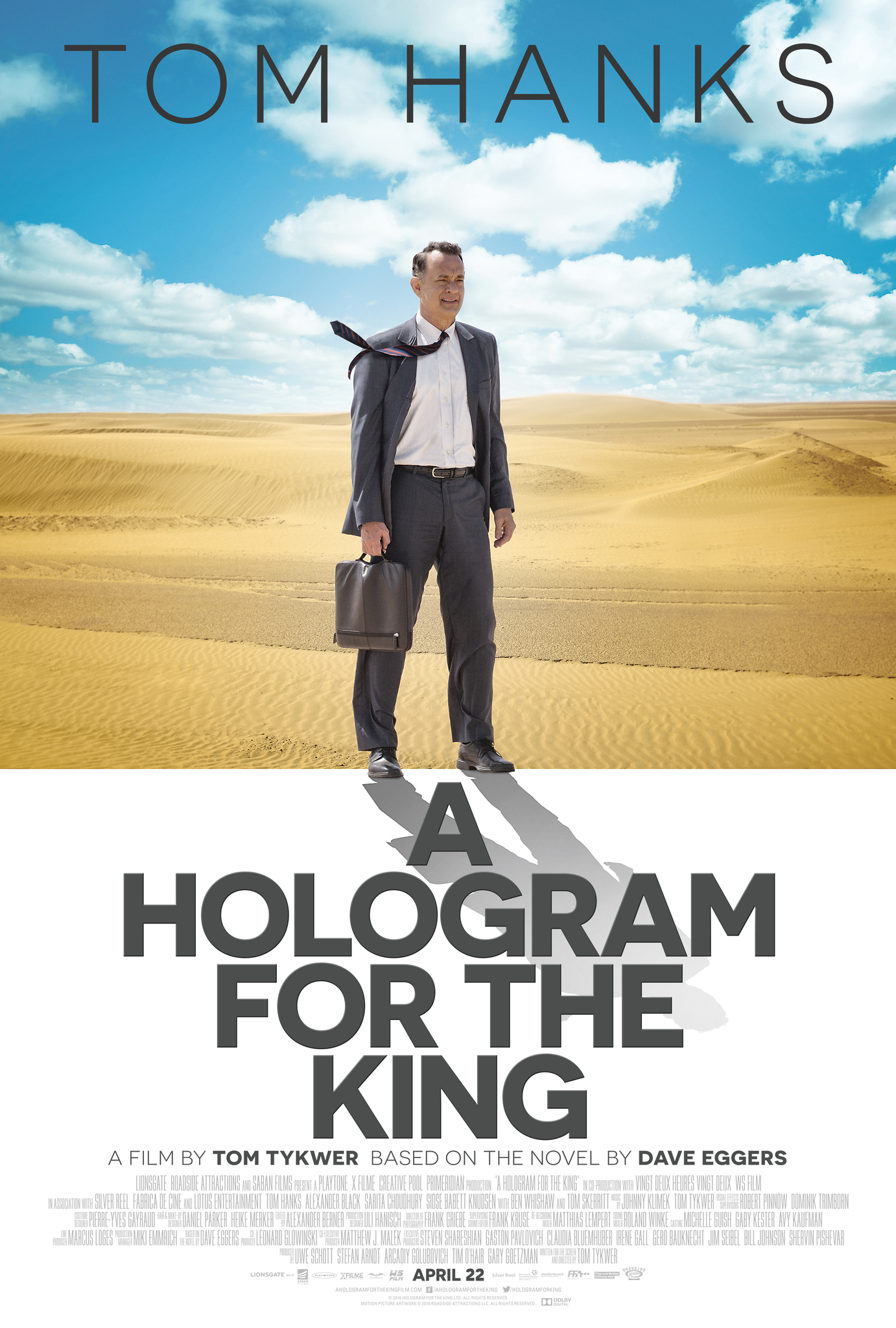 A Hologram for the King (2016) BluRay 480p, 720p & 1080p