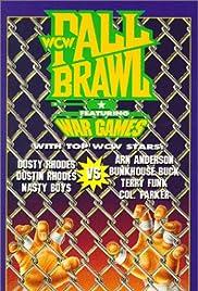 WCW Fall Brawl Poster