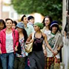 Cassie Ventura, Briana Evigan, Robert Hoffman, Adam Sevani, Danielle Polanco, and Mari Koda in Step Up 2: The Streets (2008)