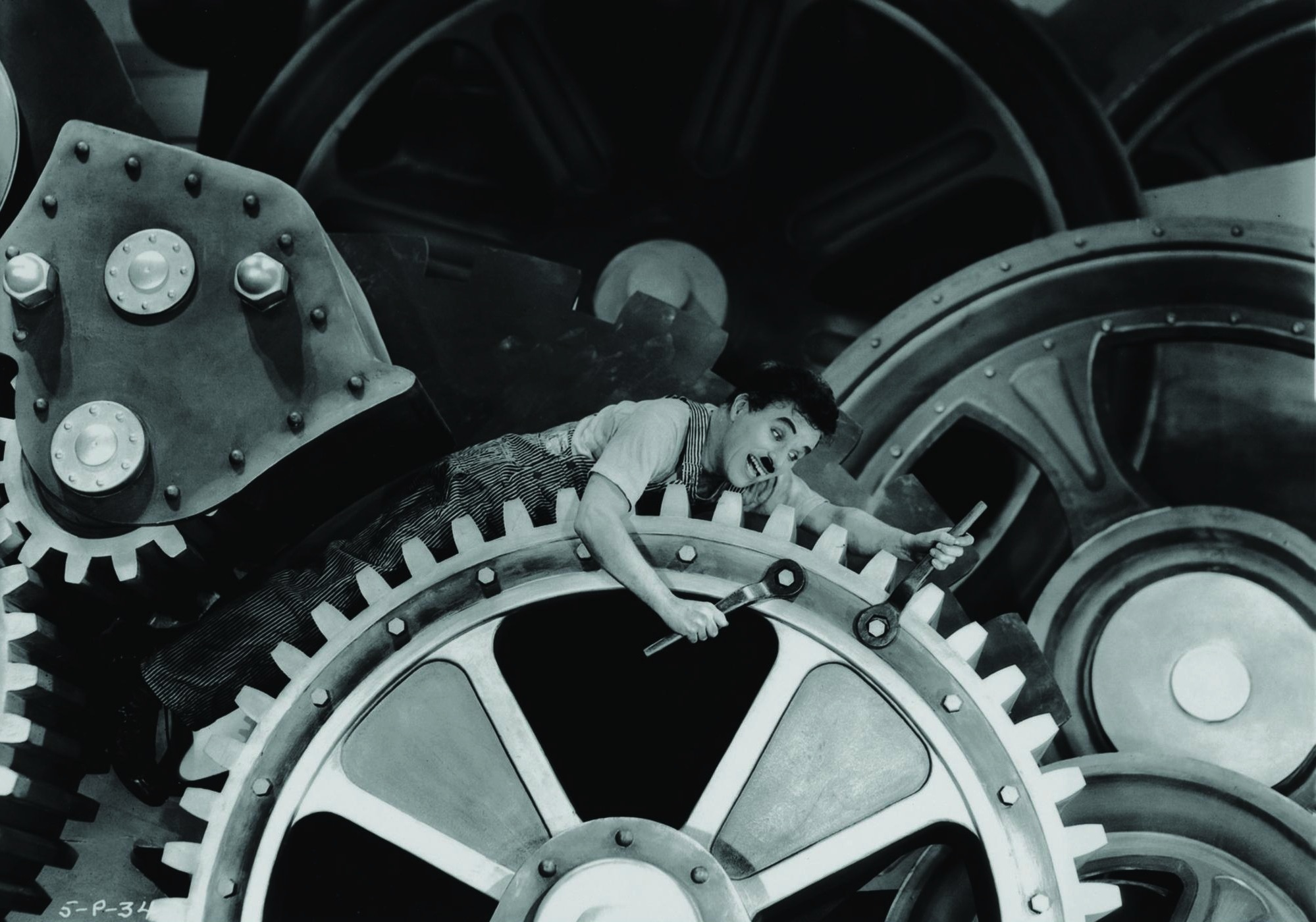 Charles Chaplin in Modern Times (1936)