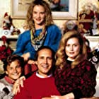 Chevy Chase, Beverly D'Angelo, Juliette Lewis, and Johnny Galecki in National Lampoon's Christmas Vacation (1989)