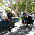 """Troy R. Brenna filming the """"Badlands"""" episode of """"10-8"""""""