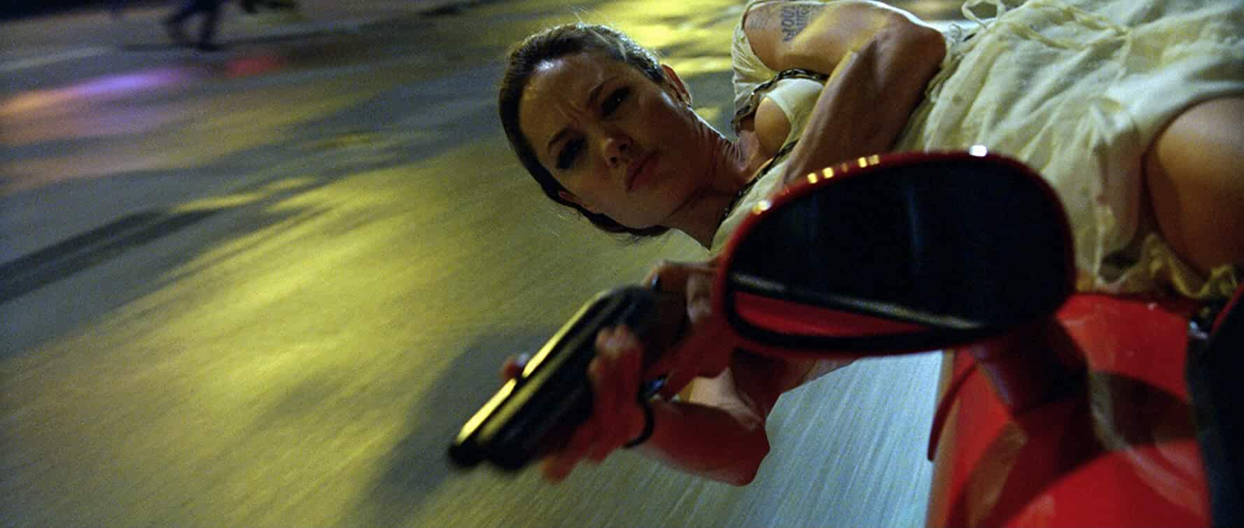 Angelina Jolie in Wanted (2008)
