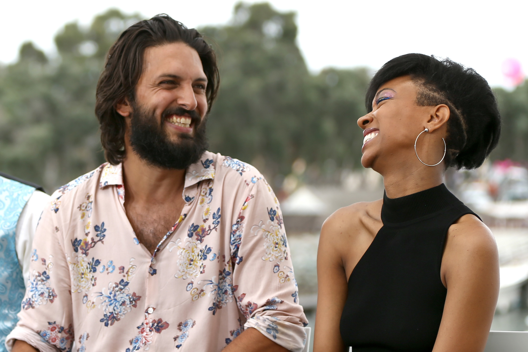 Sonequa Martin-Green and Shazad Latif at an event for Star Trek: Discovery (2017)