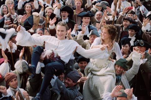 Heath Ledger dan Sienna Miller dalam Casanova (2005)