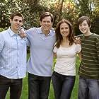 Kevin Bacon, Kelly Preston, Jordan Garrett, and Stuart Lafferty in Death Sentence (2007)
