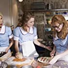 Keri Russell, Cheryl Hines, and Adrienne Shelly in Waitress (2007)