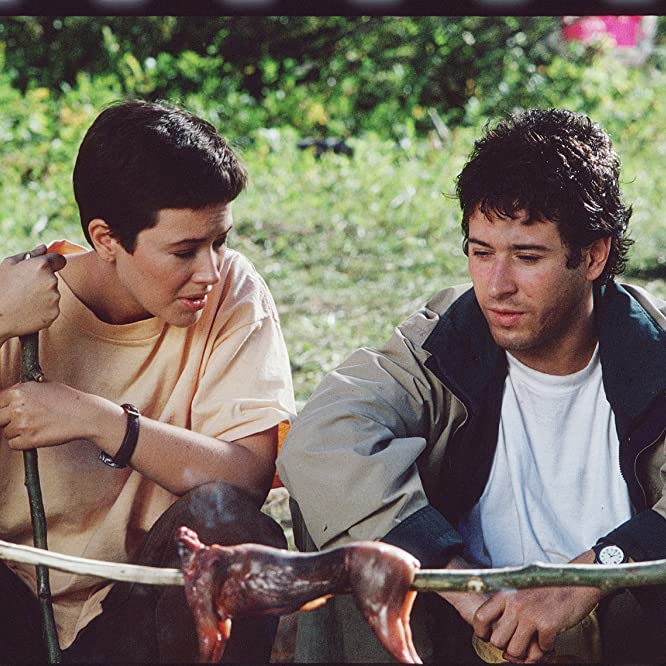 Rob Morrow and Janine Turner in Northern Exposure (1990)
