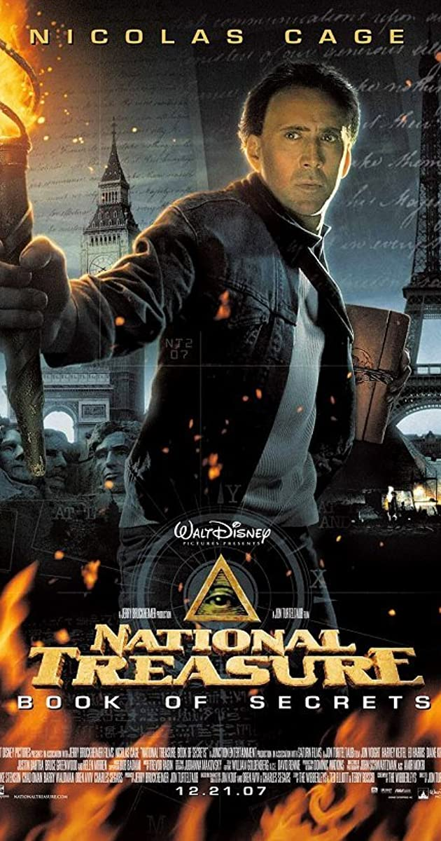 National Treasure Book of Secrets 2007 IMDb