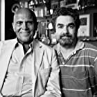 Harry Belafonte and director Joe Berlinger during the filming of Under African Skies.