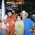 Taylor Dooley, Marc Musso, and Taylor Lautner at the Wrap Party for The Adventures of Shark Boy and Lava Girl