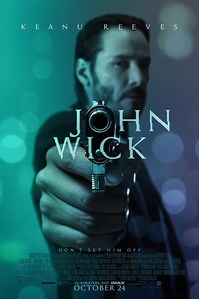 John Wick 2014 Hindi ORG Dual Audio 360MB BluRay ESubs Download