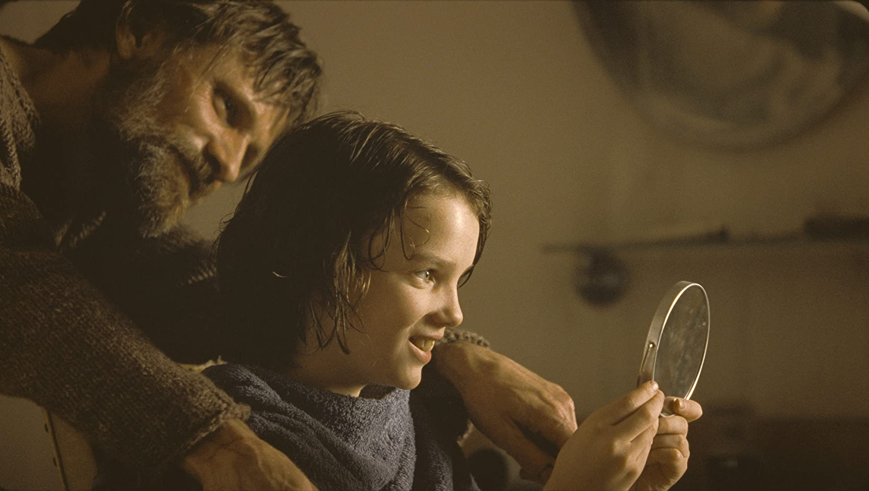 Viggo Mortensen and Kodi Smit-McPhee in The Road (2009)