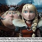 America Ferrera, Kristen Wiig, Christopher Mintz-Plasse, and T.J. Miller in How to Train Your Dragon 2 (2014)