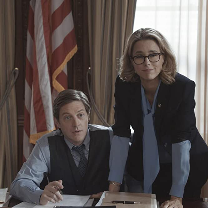 Téa Leoni and Kevin Rahm in Madam Secretary (2014)