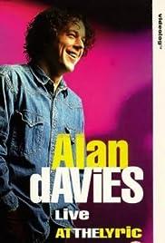 Alan Davies: Live at the Lyric Poster