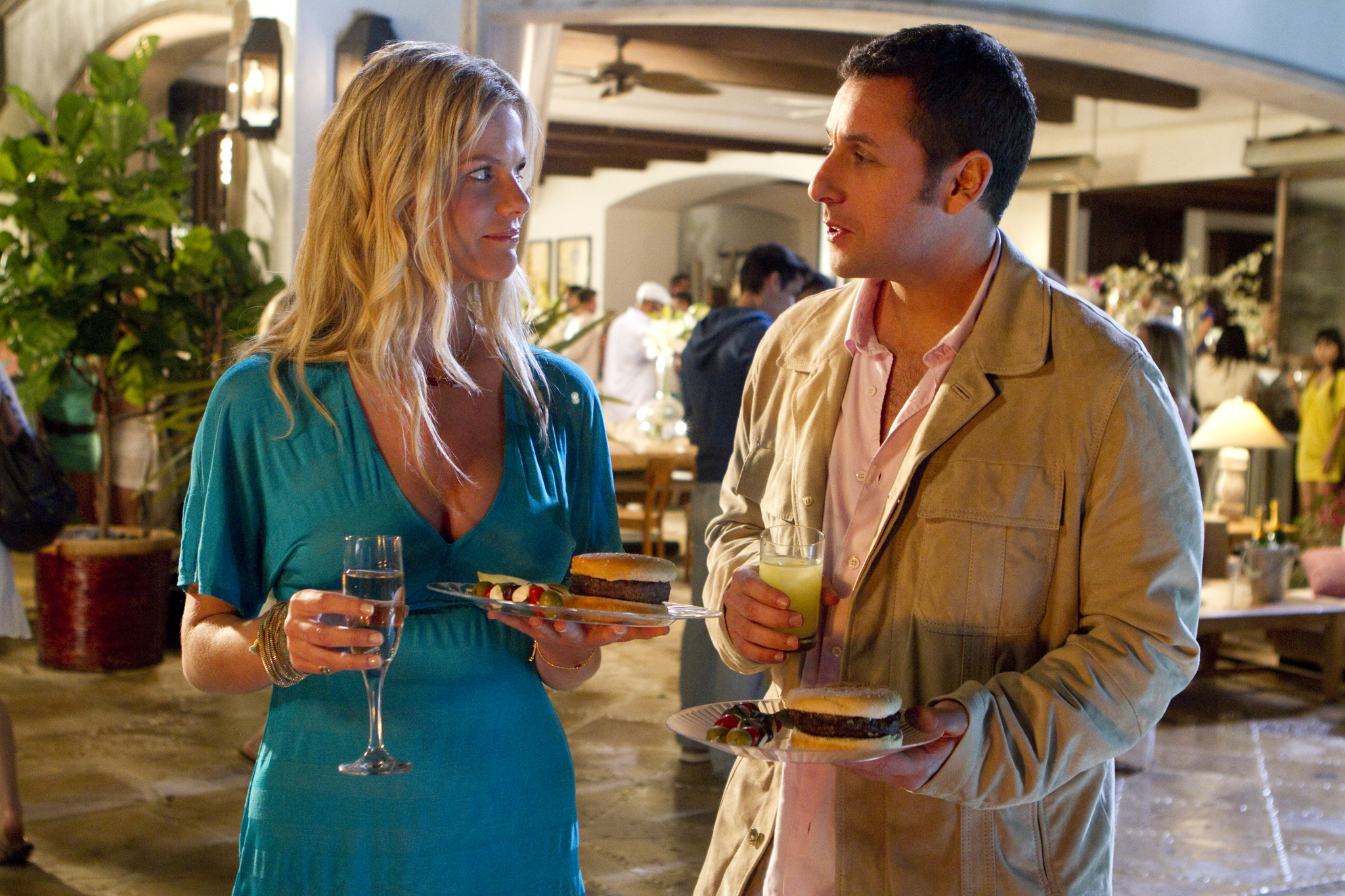 Adam Sandler and Brooklyn Decker in Just Go with It (2011)
