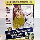 Virginia Bruce and William Lundigan in State Department: File 649 (1949)