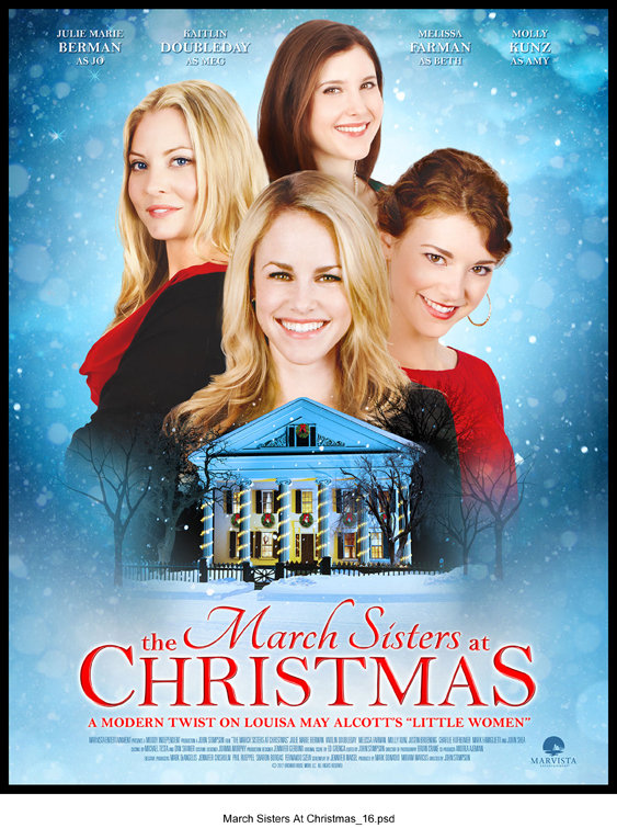 The March Sisters At Christmas Tv Movie 2012 Imdb