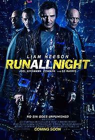 Ed Harris, Liam Neeson, Common, and Joel Kinnaman in Run All Night (2015)
