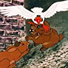 Harry Andrews, Michael Graham Cox, and Zero Mostel in Watership Down (1978)