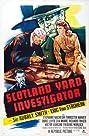 Scotland Yard Investigator (1945) Poster