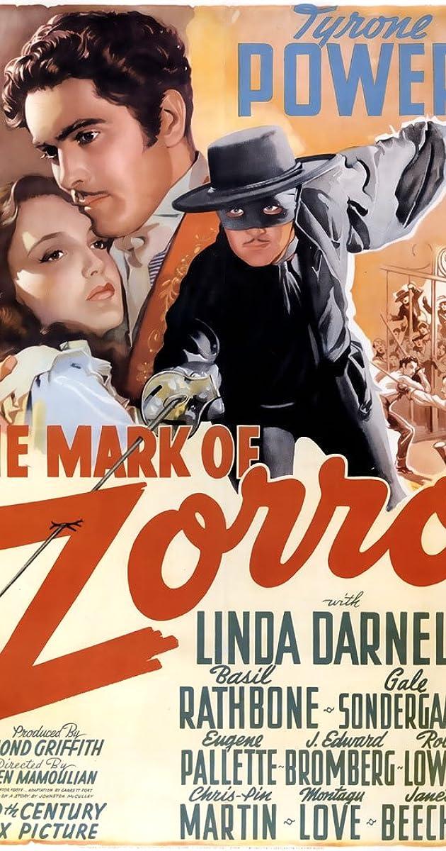 Subtitle of The Mark of Zorro