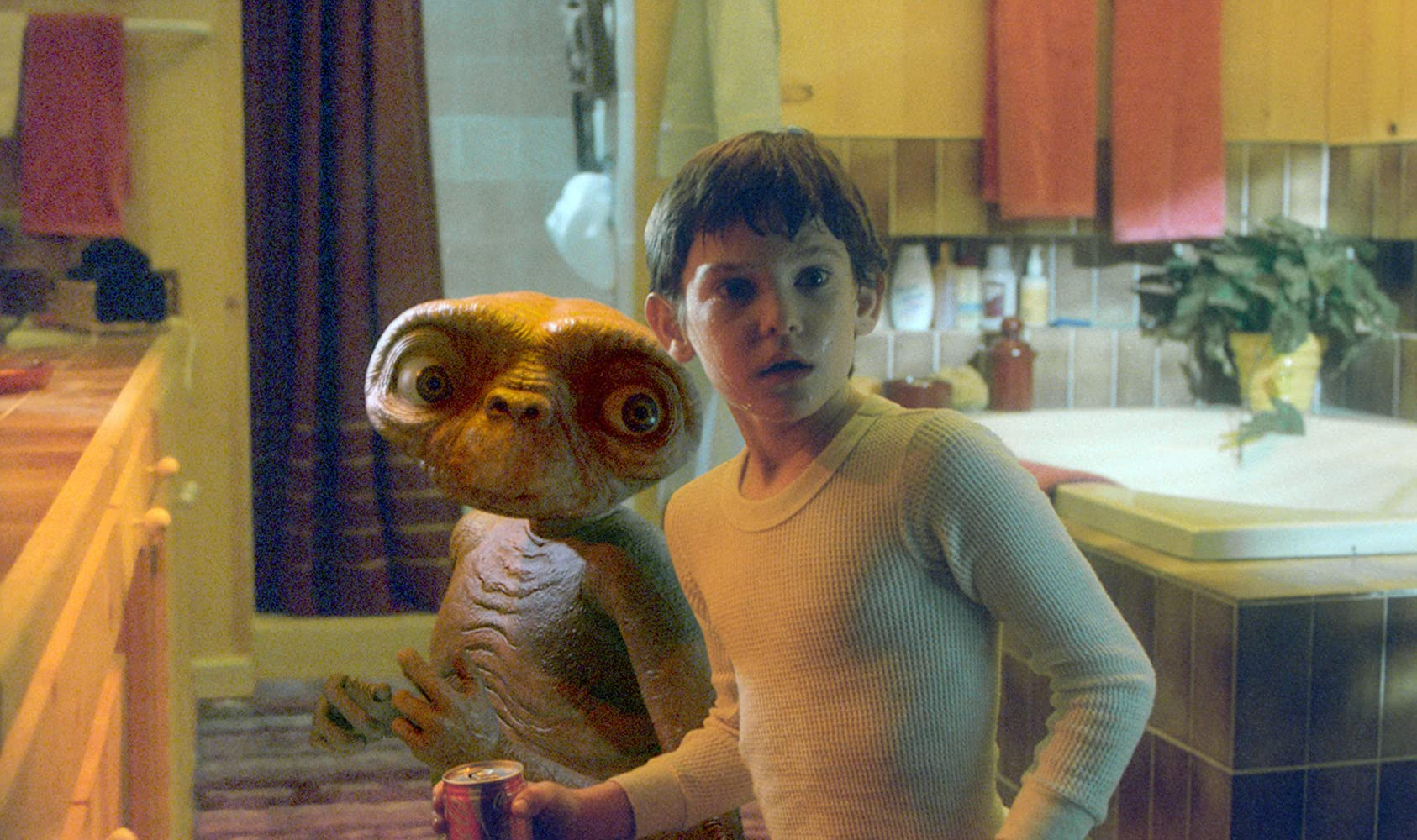 Henry Thomas in E.T. the Extra-Terrestrial (1982)