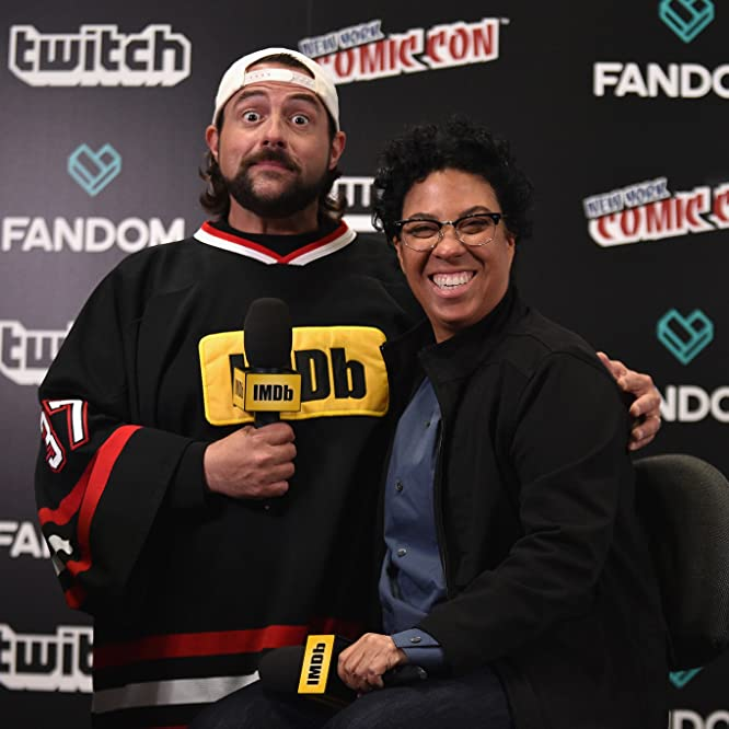 Kevin Smith and Angela Robinson