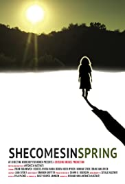She Comes in Spring Poster
