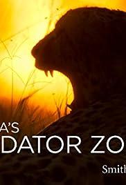 Africa's Predator Zones Poster