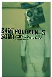 Bartholomew's Song Poster