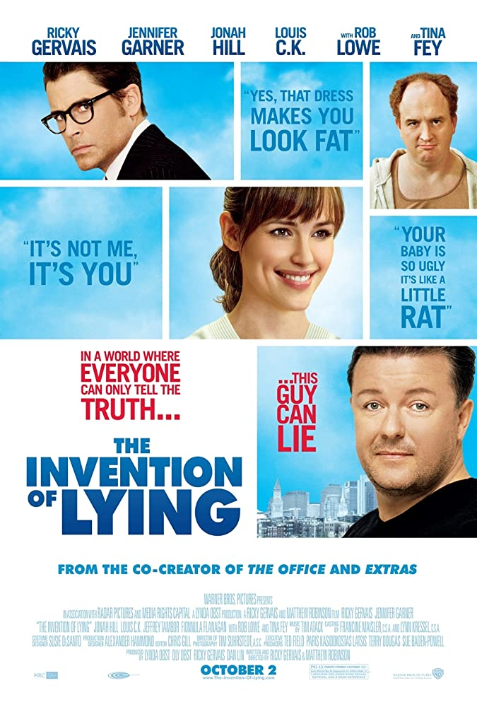 The Invention Of Lying (2009) 720p BRRip x264 AAC [Dual Audio] [Hindi – English] – 650MB